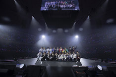 「あんさんぶるスターズ!Starry Stage 2nd ~in 日本武道館~」の様子。