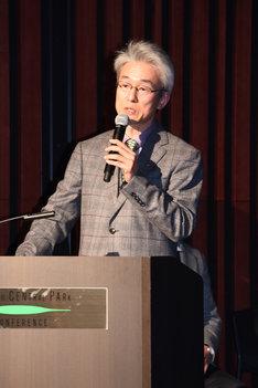 東映アニメーションの鷲尾天プロデューサー。