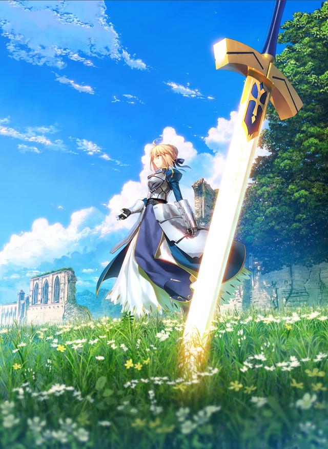 「Fate/stay night 15th Celebration Project」ビジュアル