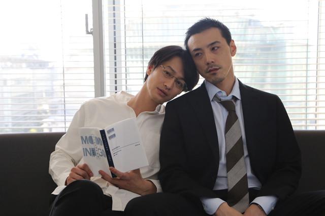 左から木島理生役の竹財輝之助、城戸士郎役の吉田宗洋。