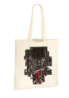 展覧会記念商品のトートバッグ。