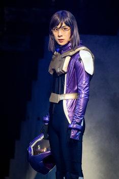 舞台「機動戦士ガンダム 00 -破壊による再生-Re:Build」ゲネプロより、ティエリア・アーデ役の永田聖一朗。
