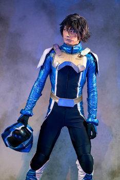 舞台「機動戦士ガンダム 00 -破壊による再生-Re:Build」ゲネプロより、橋本祥平演じる刹那・F・セイエイ。