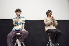 左から櫻井孝宏、伊藤節生。