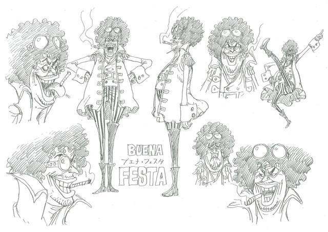 ブエナ・フェスタの設定画。