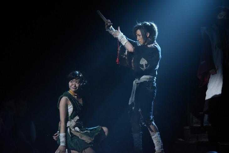 舞台「どろろ」公開ゲネプロより。