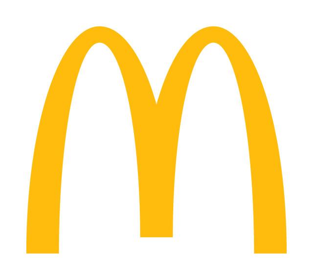 マクドナルドのロゴ。