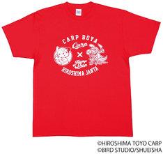 「『ジャンタ』Tシャツ 広島東洋カープ×JUMP SHOPコラボ JUMP SHOP限定Tシャツ」