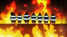 TVアニメ「炎炎ノ消防隊」ティザーPV第2弾より。