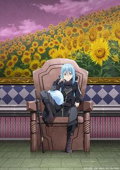 TVアニメ「転生したらスライムだった件」第2期ティザービジュアル