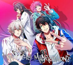 「Enter the Hypnosis Microphone」初回限定Drama Track盤のジャケット。