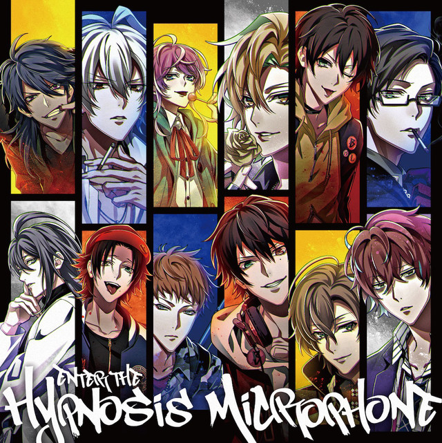 「Enter the Hypnosis Microphone」通常盤のジャケット。