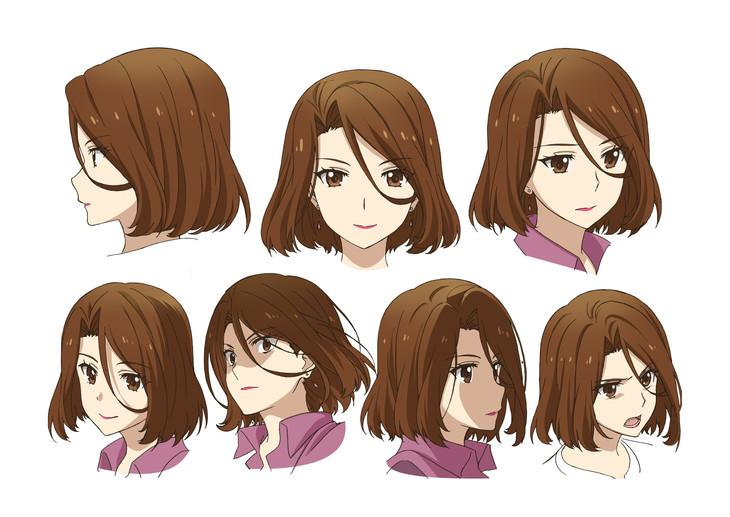 一条美月(CV:大西沙織)のキャラクタービジュアル・表情集。