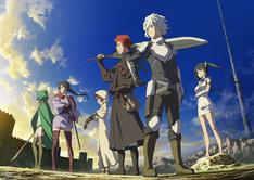 TVアニメ「ダンジョンに出会いを求めるのは間違っているだろうかII」ティザービジュアル
