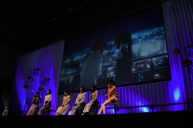 「『劇場版 響け!ユーフォニアム~誓いのフィナーレ~』スペシャルステージ」の様子。