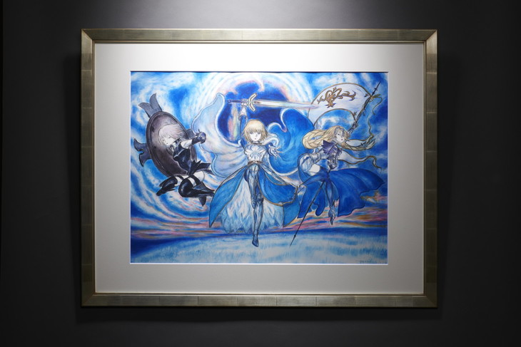 「マシュ・キリエライト/アルトリア・ペンドラゴン/ジャンヌ・ダルク」