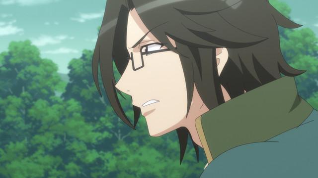 TVアニメ「BAKUMATSUクライシス」第1話「クロフネ襲来 無限斎の帰還!」より。