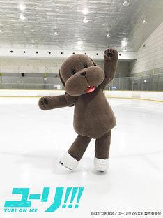 スケーティングを練習するマッカチン。