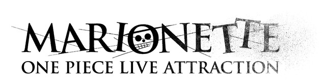 「ONE PIECE LIVE ATTRACTION『MARIONETTE』」ロゴ