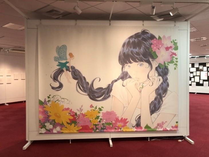 「窪之内英策展『絵空ゴト』~ぜんぶ、鉛筆とラクガキからはじまった~」の様子。