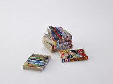 三島喜美代「コミックブックス17-S」Photo: Courtesy Sokyo Gallery