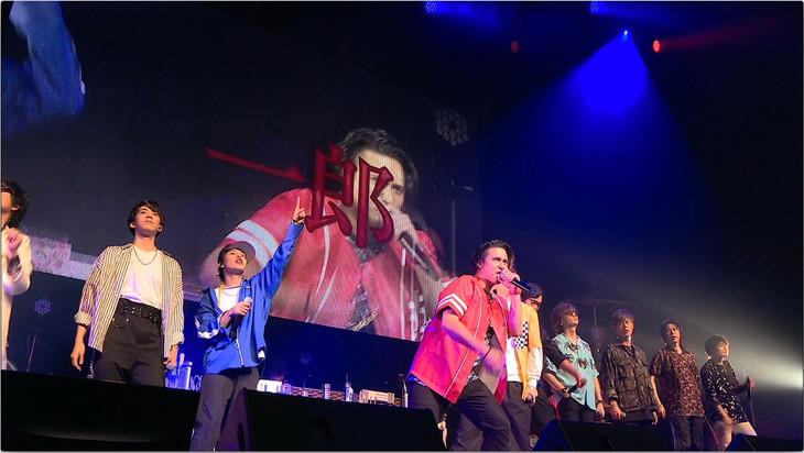「ヒプノシスマイク -Division Rap Battle-」ライブイベントの様子。(c)KING RECORDS
