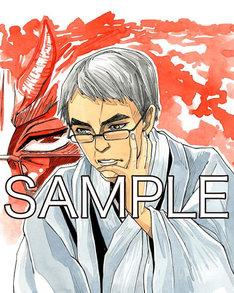 西川秀明が描き下ろした羽生善治九段。
