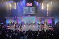「Pripara Friendship Tour 2019 プロミス!リズム!パラダイス!」4月28日公演の様子。