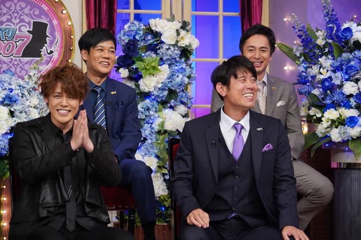 「しゃべくり007」に出演する宮野真守(下段左)。(c)日本テレビ