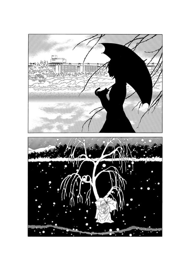 「柳の木」より。(c)MOTO HAGIO/SHOGAKUKAN INC.