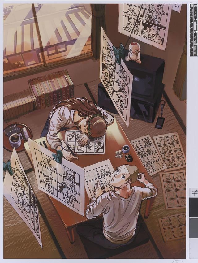 「聖☆おにいさん」より。(c)Hikaru Nakamura / Kodansha Ltd.