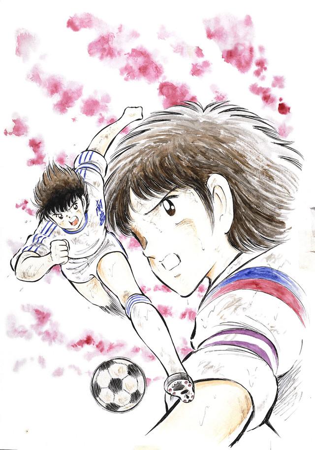 「キャプテン翼」より。(c)Yoichi Takahashi/SHUEISHA