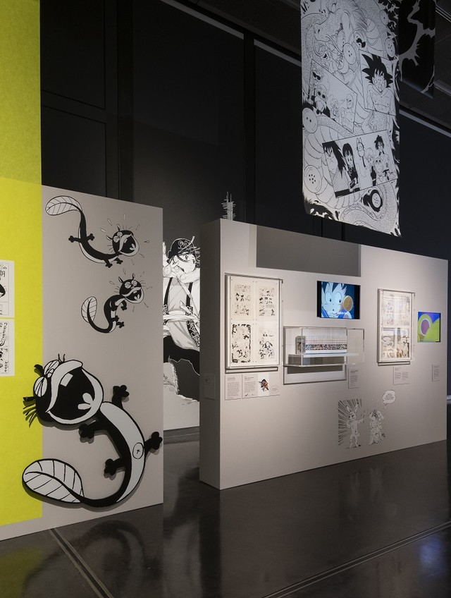 「The Citi exhibition Manga」の様子。J.Fernandes (c)The Trustees of the British Museum