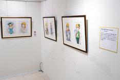 「画業50周年記念 弓月光原画展」より、「甘い生活2nd season」の原画。