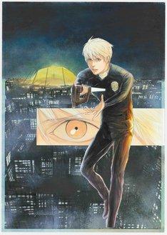 「HUMAN LOST 人間失格」コミカライズ版のカット。(c)Ryusuke Takashiro, KODANSHA/HUMAN LOST Project.