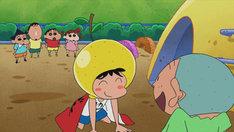 ゆずマンが登場するショートアニメより。