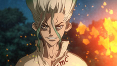 「Dr.STONE」第1話の先行カット。