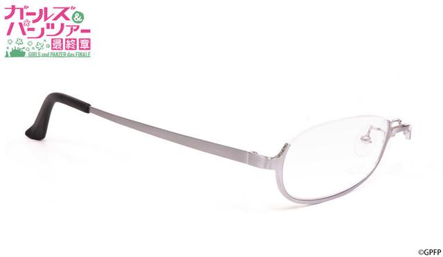コラボ眼鏡「河嶋桃モデル」