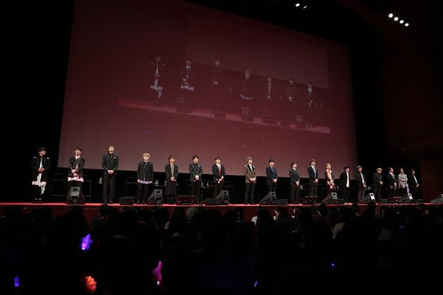 「劇場版 うたの☆プリンスさまっ♪ マジLOVEキングダム」公開記念舞台挨拶の模様。