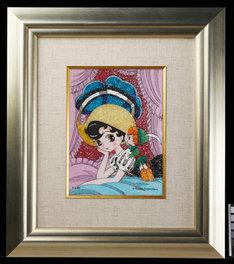 「リボンの騎士 ジュエリー絵画」(c) Tezuka Productions