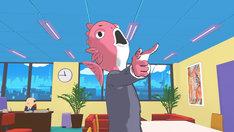 TVアニメ「ビジネスフィッシュ」より。