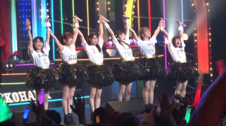 「人生が変わる1分間の深イイ話」より、i☆Ris。(c)日本テレビ