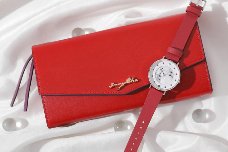 犬夜叉モデルの腕時計と長財布。