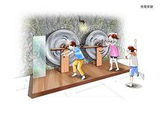 発電機の展示イメージ