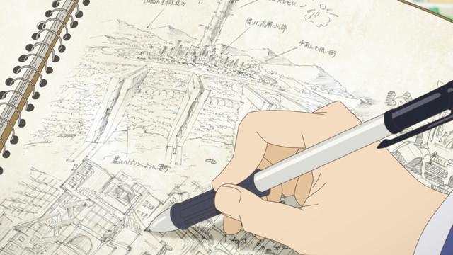 TVアニメ「映像研には手を出すな!」PV第2弾より。
