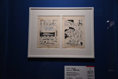 「 特別展『三国志』」より、横山光輝「三国志」の原画。
