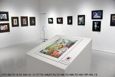 「Illustration」の展示。