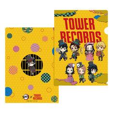 「鬼滅の刃 × TOWER RECORDS A4クリアファイル」