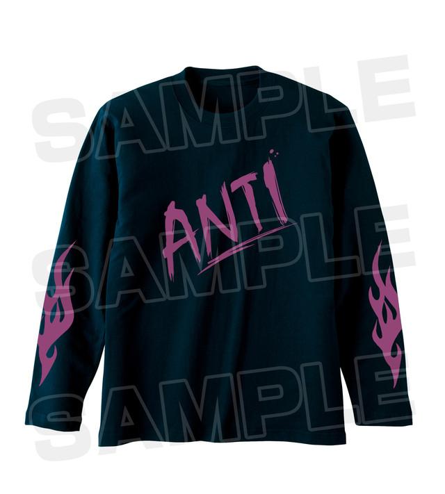 「SSSS.GRIDMAN POP UP SHOP in TOWER RECORDS アンチ 描き下ろしイラスト衣装 イメージ ロングTシャツ」