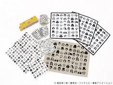 「ASOKO de ONE PIECE」buggyデザインのアイテム。